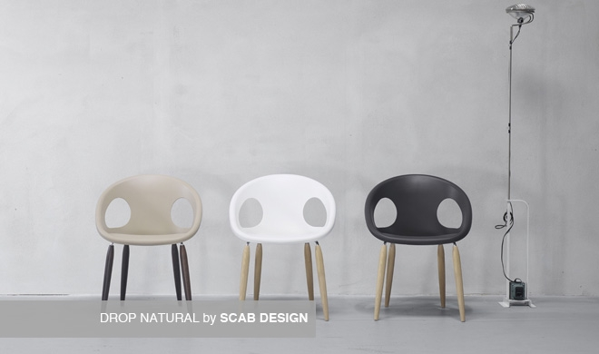 Sedia Design DROP NATURAL